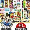 "Japanese snacks assortment 30pcs , full of dagashi. ""TONOSAMA"" #2"