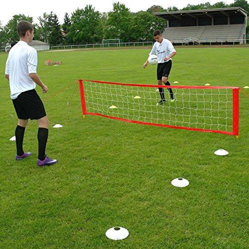 Fußballtennis-Anlage S, für 2 bis 6 Spieler, für Fußballtraining