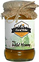 CoralTribe Raw Organic Honey   Unprocessed Unfiltered Natural Original Honey for   an Ayurvedic Remedy for Immunity Boosting, Weightloss - 530gm (Glass Jar)