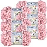 Bernat Tickle Me Pink Pipsqueak Yarn 6/Pk 6 Pack