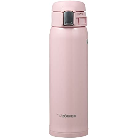 Zojirushi SM-SA48PB Stainless Steel Vacuum Insulated Mug, 1 Count (Pack of 1), Pearl Pink