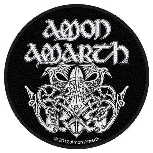 Amon amarth–Skull Logo Round [Patch/parche, tejida] [SP2657]