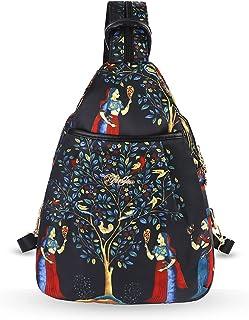 Eshow Damenhandtasche Rucksackhandtasche Schultertasche Umhängetasche Handtasche Rucksack für Damen