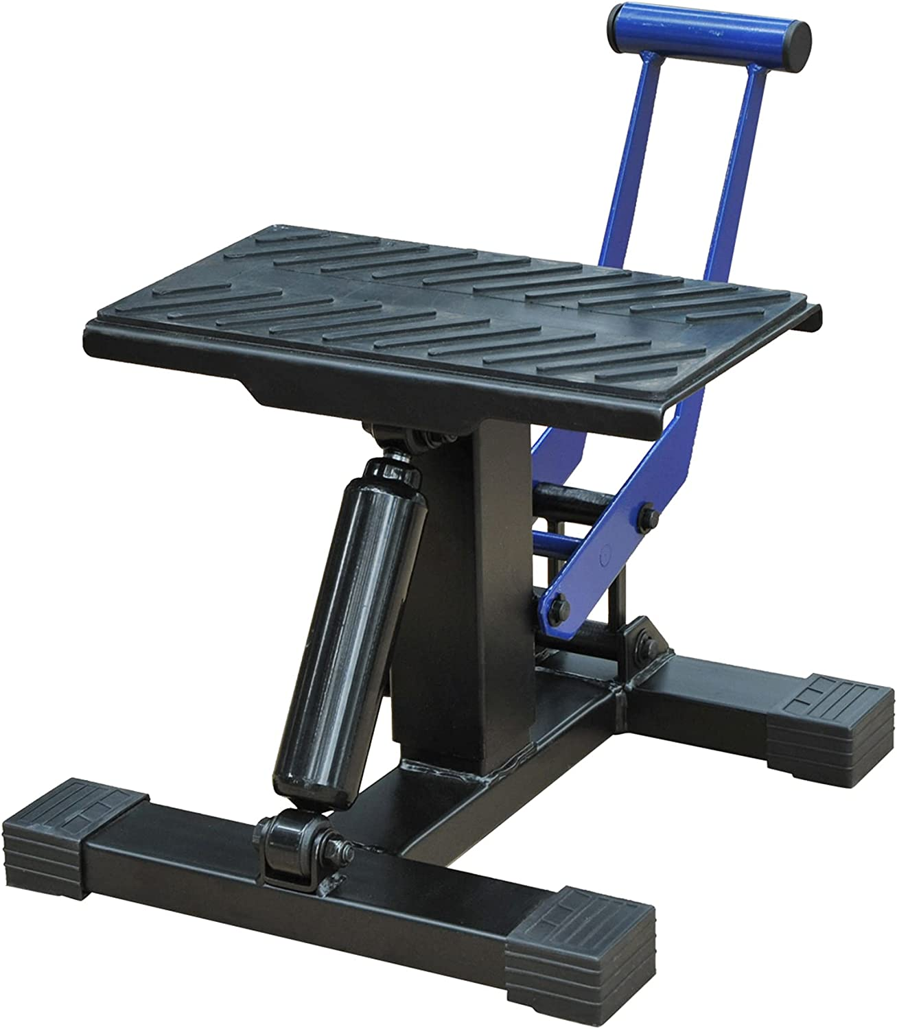 HOMCOM New product!! Portable Adjustable Al sold out. Steel Motorcycle Stand Repa Bike Lift