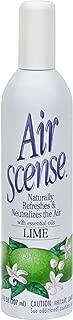 Air Scense Air Freshener, Lime - 7 Oz, 4 pack