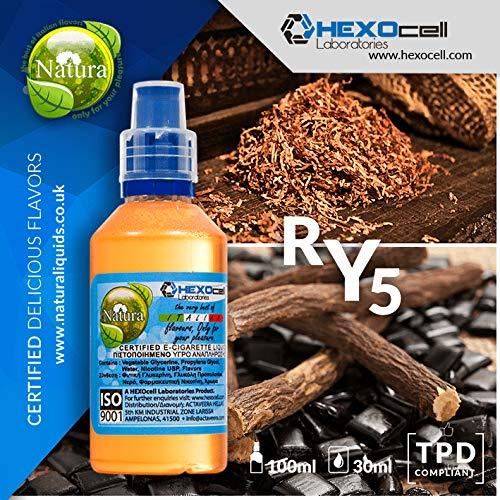 E LIQUID PARA VAPEAR - 30ml RY5 Tabaco fuerza media