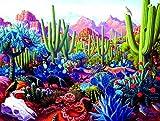 Cactusland 1000 Pc Jigsaw Puzzle by SunsOut