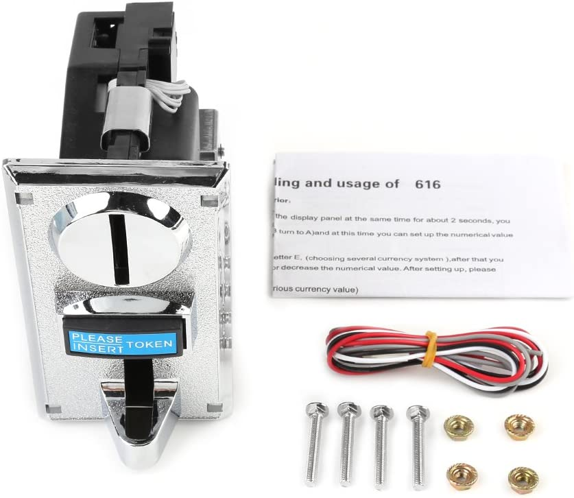 Philadelphia Mall Multi Coin Acceptor Selector Slot Game Vend Now free shipping Arcade Mechanism for