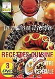 Lot 3 DVD Les Viandes, Les Poissons, Les Volailles en 12 Recettes