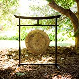 """16"""" to 17"""" Gongs on the Sacred Space Outdoor Gong Stand"""