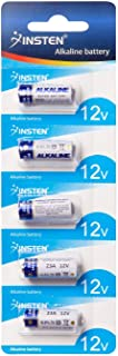 Insten Alkaline Battery - A23 23A 12V (Pack of 5-piece)