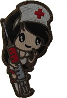 Nurse Girl Morale Patch (Full Color (Subdued))