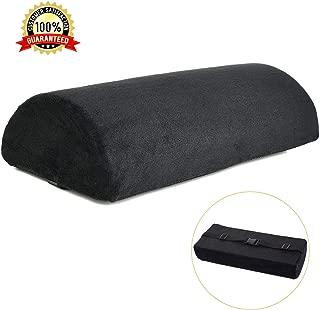 black velvet bolster cushion