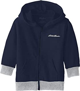 Boys' Little Fleece Hoodie (8) Navy