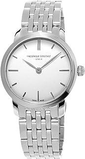 Frederique Constant - Constant Frederique It's_amaz-Reloj analógico de Cuarzo de Acero Inoxidable FC-200S1S36B3