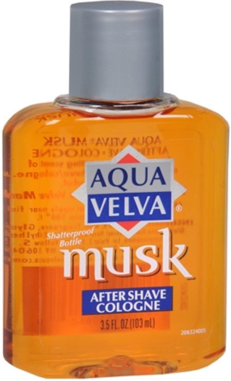 Aqua Velva Musk After outlet Shave Cologne of oz supreme 3.50 6 Pack