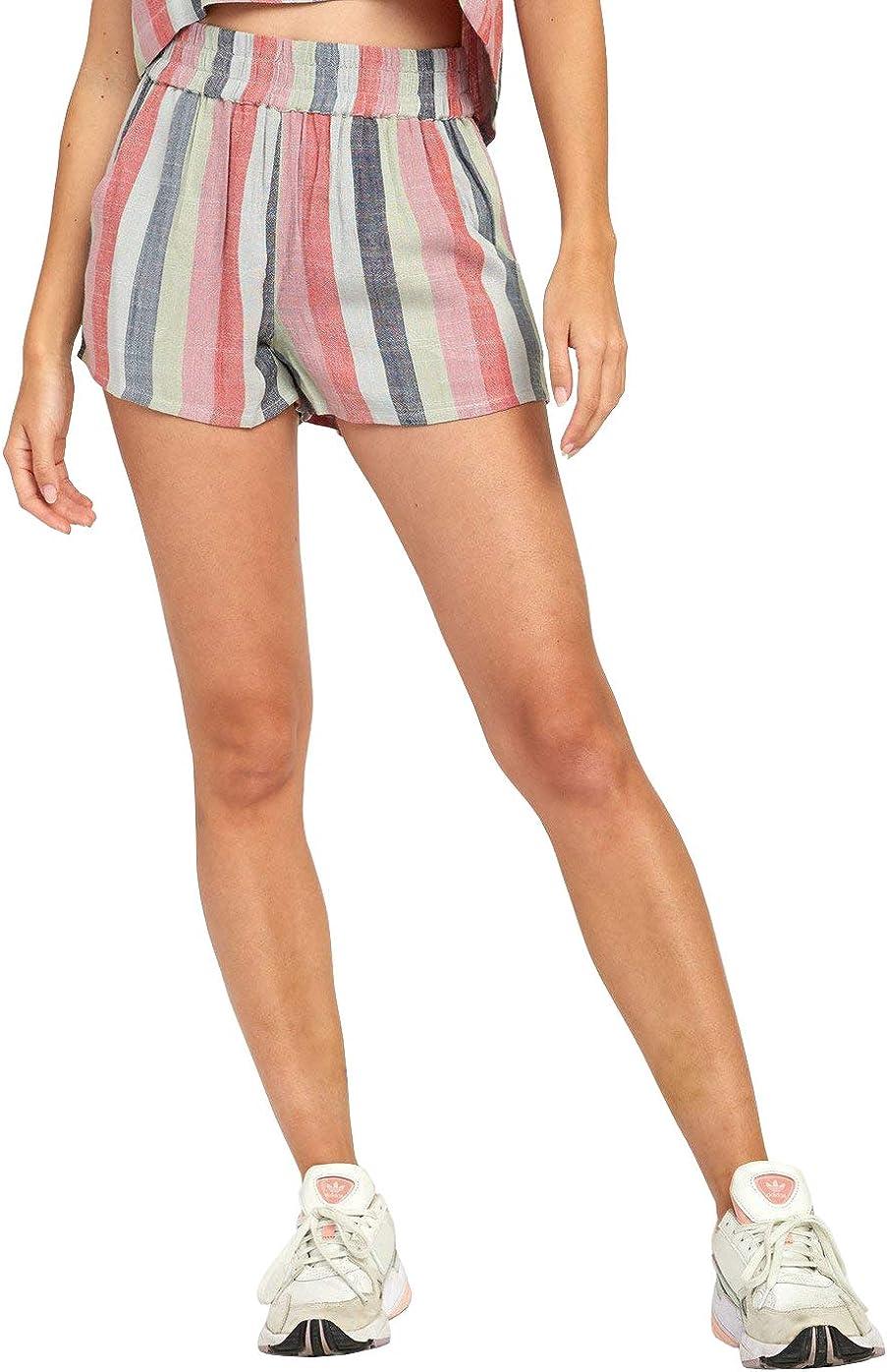 RVCA Women's Max 57% OFF Suggest overseas Short Stripe