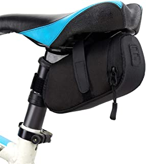HEALTHLL 3 Color Nylon Bicycle Bag Bike Waterproof Storage Saddle Bag Seat Cycling Tail Rear Pouch Bag Saddle Accessories Blue Other