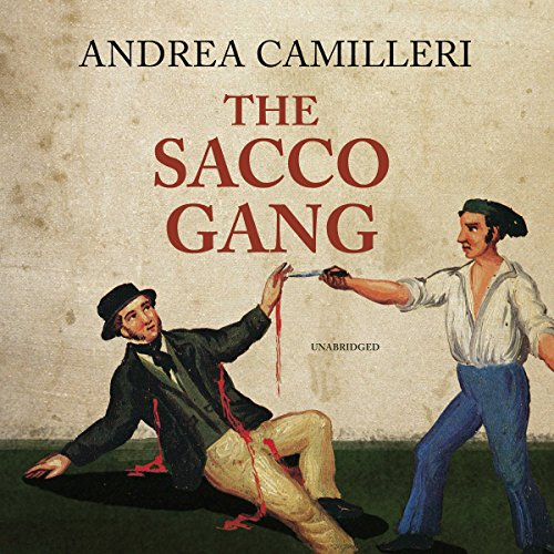 The Sacco Gang audiobook cover art