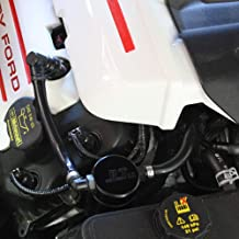 2011-2017 Mustang GT 5.0 JLT Oil Separator Passenger Side Black