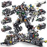 PANLOS STEM ロボットビルディングトイ エンジニアリング ビルディングブリック 装甲車両キット ビルディングブロック 6歳以上のお子様用 タイトフィット すべての主要ブランドに対応 832個