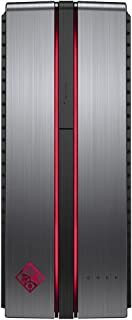 2018 HP OMEN VR Ready Gaming Desktop Computer, Intel Quad-Core i5-7400 up to 3.50GHz, 16GB DDR4, 512GB SSD + 1TB 7200 RPM HDD, GTX 1060 3GB, DVDRW, 802.11ac WiFi, Bluetooth 4.2, HDMI, Windows 10