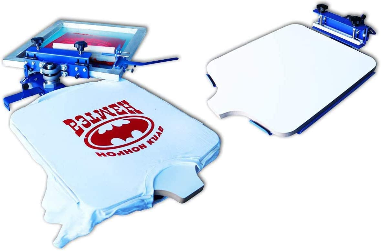INTBUYING Silk Screen Printing Press T-Shirt lowest price Manual Mac 100% quality warranty!