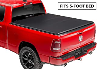 Rugged Liner E-Series Soft Folding Truck Bed Tonneau Cover | E3-T501 | fits 2001 - 2004 Toyota Tacoma Double Cab, 5' Bed