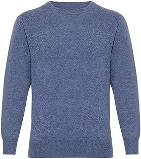 Mens Cashmere Round Neck Sweater by Lona Scott