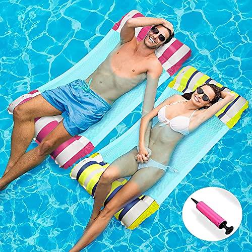 materassino piscina 100 kg WSDF 2 Pack Amaca Gonfiabile