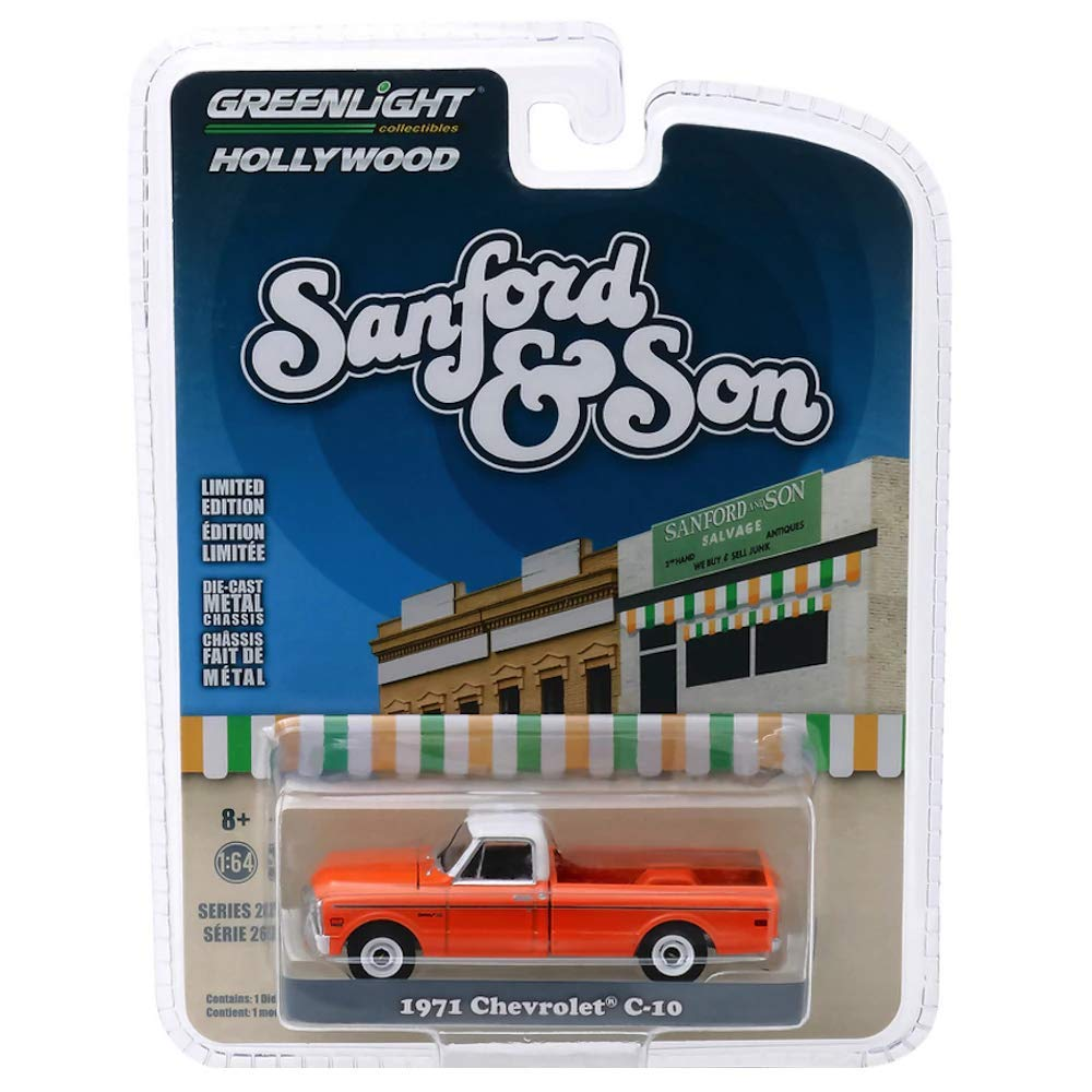 Greenlight 1971 Chevrolet C-10 Truck Sanford /& Son Film Auto 1:64