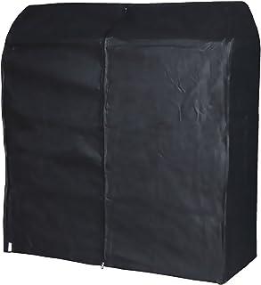 Hangerworld Housse 121 x 165 x 60 cm de Portant Noire
