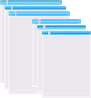 Dr. Storage圧縮袋 衣類圧縮袋 手巻き 6枚入り 【XL・Lサイズ各3枚組】 掃除機不要 防塵防湿 防虫防カビ 繰り返し使用出来 衣替え収納/旅行/引越し/出張/家庭