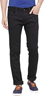 Ben Martin Men's Regular Fit Denim Jeans(BM-JNS-Black)