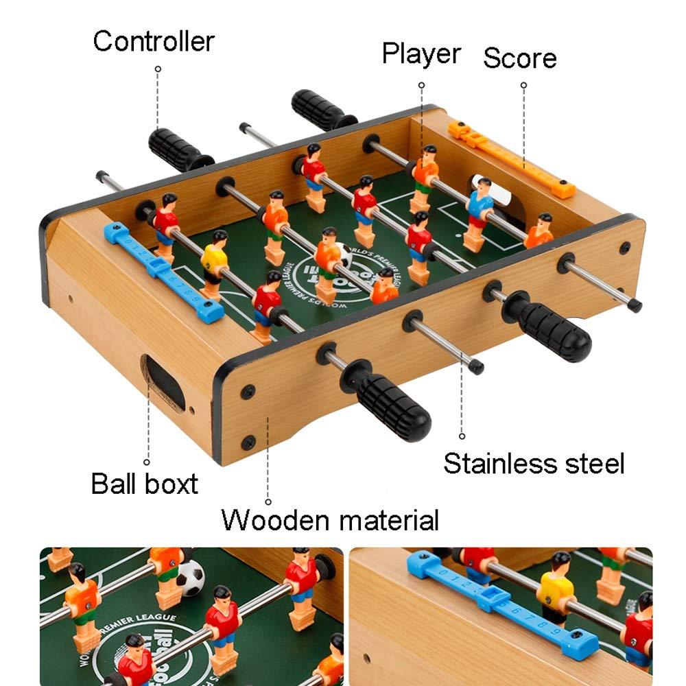 ElevenY Mini juego de fútbol de mesa de madera para interiores ...