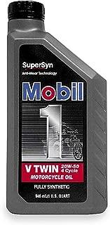 Mobil1 Supersyn V-Twin - 20W50 - 1qt. 98HC76