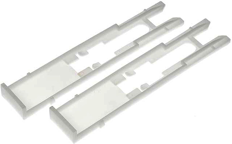 APDTY 53539 Headlamp Head Light Retainer Clip (Set Of 2)