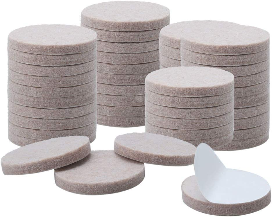 Over Gifts item handling uxcell 50pcs Furniture Pads Round Self-stick 1 4