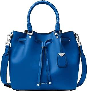 Blakely Leather Bucket Shoulder Crossbody Bag