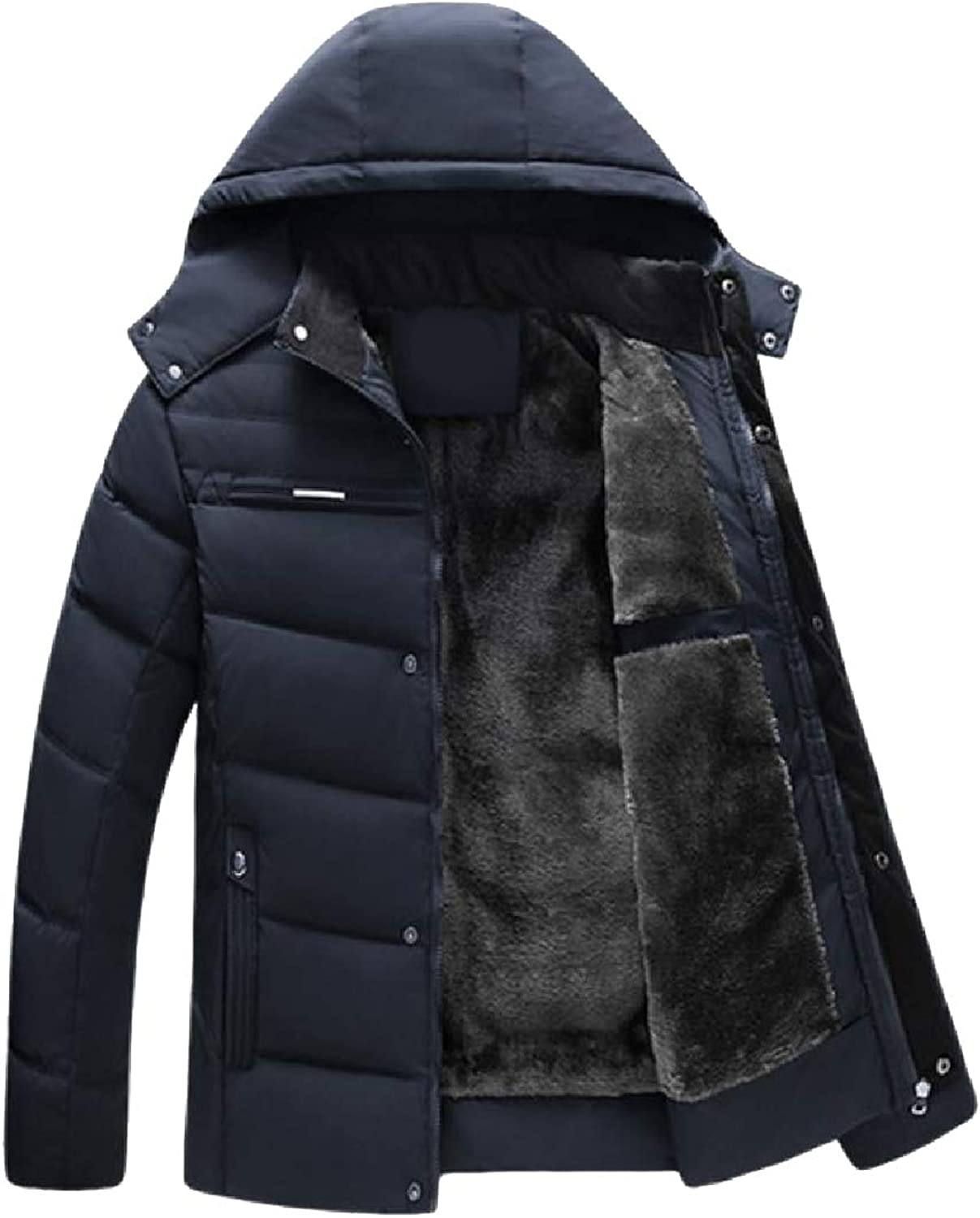 23f54517c Tryist Men Brumal Warm Regular Down Puffer Puffer Puffer Jacket Plus ...