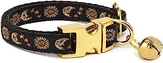 WAAAG Pet, Moons Stars Suns Dog Collar Cat Collar Hound Collar, Multiple Designs Crescent Celestial Dog Collar Hound Colla...