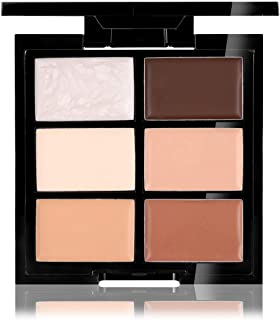 CCbeauty Cream Concealer Contour Palette Makeup Highlighter and Makeup Color Face& Eye Dark Circle Corrector Kit (Deep)