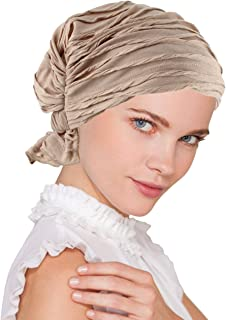 Turban Plus Abbey Cap in Poly Knit Chemo Caps Cancer Hats for Women