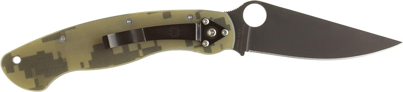 Spyderco Taschenmesser Military Camo Blade, braun, 01SP600