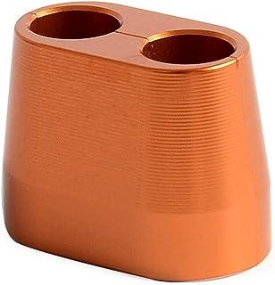 NO LOGO SHIYM-MTC, Cable del Acelerador Protector del Protector de la Cubierta for el KTM 250 350 390 450 500 525 530 550 625 660 660 RC390 EXC SX XCW XCF EXCF SMR Husqvarna (Color : Orange)