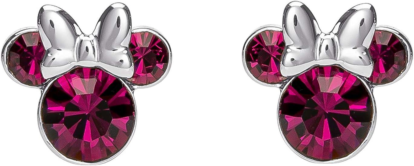 1.Disney Minnie Mouse Birthstone Jewelry