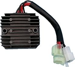 Tuzliufi Replace Voltage Regulator Rectifier Suzuki SV1000 SV1000S SV650 SV650S VStrom 650 DL650 DL650A V-Strom Arctic cat 375 400 500 TBX400 TBX500 TRV400 TRV500 32800-16G01 3402-682 3530-028 New Z65