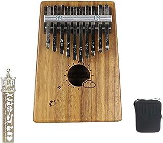 10 Claves del pulgar del dedo del piano de piano de la mano de madera del piano portátiles regalos de instrumentos musicales para los niños y los adultos principiantes