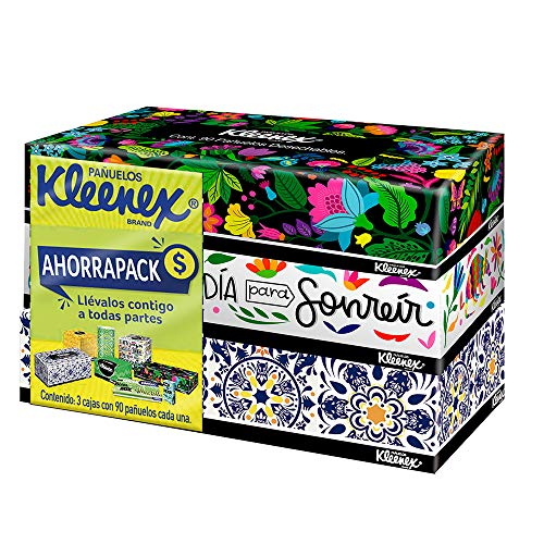 Caja Kleenex  marca Kleenex