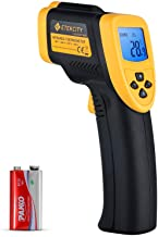 Etekcity Lasergrip 800 (Not for Human) Digital Infrared Thermometer Laser Temperature Gun Non-contact-58℉ -1382℉ (-50℃ to 750℃), Standard Size, Yellow & Black
